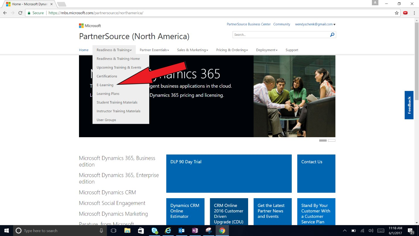 Microsoft learning portal training on my terms dynamic consulting i used the search box and entered the exam i want to take mb2 717 xflitez Images