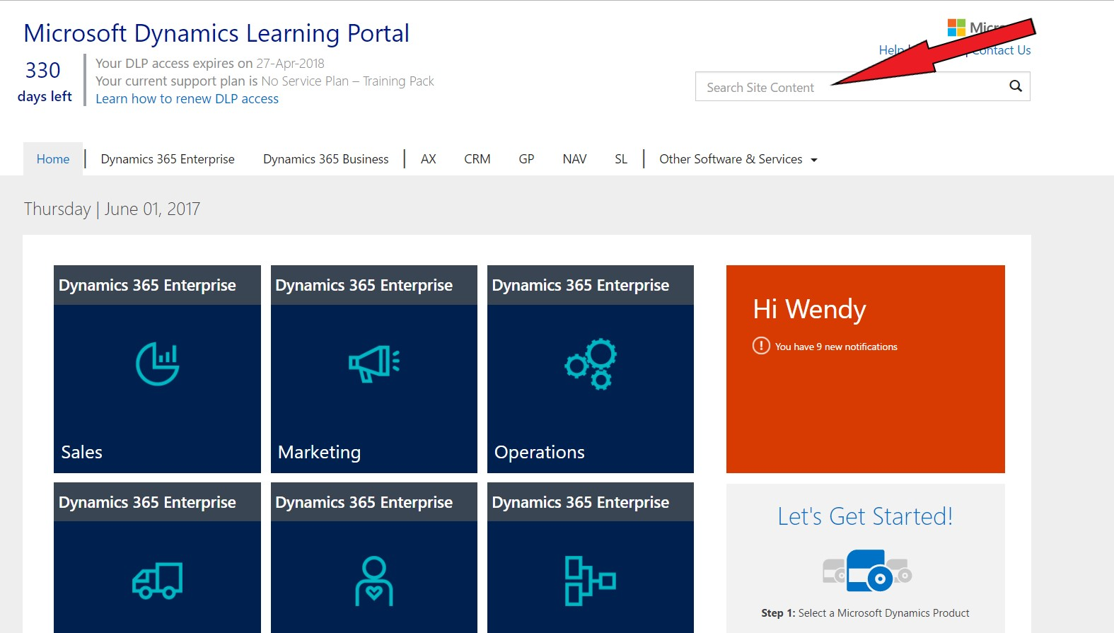 Microsoft learning portal training on my terms dynamic consulting the portal brought back some great information related to the exam microsoft dynamics 365 for sales certification exam preparation guide includes xflitez Images