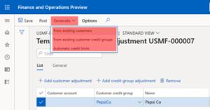 Automatic Credit Limit Adjustments